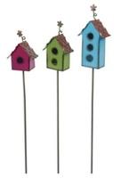 metal-painted-birdhouses